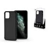 ROAR Apple iPhone 11 Pro szilikon hátlap - Roar Carbon Armor Ultra-Light Soft Case - fekete