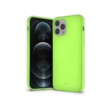 ROAR Apple iPhone 12/12 Pro szilikon hátlap - Roar All Day Full 360 - lime tok és táska