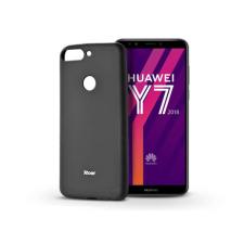 ROAR Huawei Y7 (2018) szilikon hátlap - Roar All Day Full 360 - fekete tok és táska