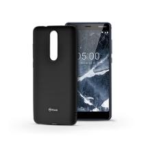 ROAR Nokia 5.1 szilikon hátlap - Roar All Day Full 360 - fekete tok és táska