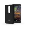 ROAR Nokia 6.1 szilikon hátlap - Roar All Day Full 360 - fekete