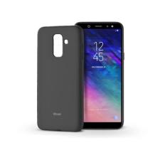 ROAR Samsung A605 Galaxy A6 Plus (2018) szilikon hátlap - Roar All Day Full 360 - fekete tok és táska