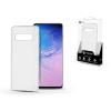 ROAR Samsung G973U Galaxy S10 szilikon hátlap - Roar Carbon Armor Ultra-Light Soft Case - clear