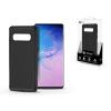 ROAR Samsung G973U Galaxy S10 szilikon hátlap - Roar Carbon Armor Ultra-Light Soft Case - fekete