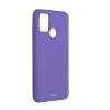 ROAR Színes zselés tok - Samsung Galaxy M21 lila telefontok