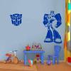 Robot 3 gyerekszoba falmatrica