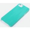 Rock Rock Texture műanyag hátlaptok Apple iPhone 5, 5S, SE-hez kék*