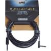 RockBoard Flat Instrument Cable Black 600 cm straight/angled