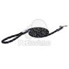 Rogz kötél póráz, fekete L (HLLR12-A)