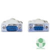 ROLINE kábel Soros Hosszabbító RS-232 (Male) to RS-232 (FeMale) 1.8m (11.01.6218)