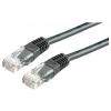 ROLINE UTP CAT5e 2m (fekete) kábel