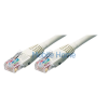 ROLINE UTP CAT5e patch kábel, szürke, 1m (XUTPC5PKAB1)