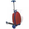 Roller elől rögzíthető piros táskával gyermekek számára