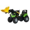Rolly Toys Rolly FarmTrac Deutz-Fahr Agrotron 7250 TTV pedálos markolós traktor