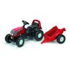 Rolly Toys Rolly Kid Valtra pedálos traktor utánfutóval