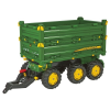 Rolly Toys Rolly Multitrailer John Deere háromtengelyes utánfutó