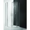 Roltechnik TR2/800 íves zuhanykabin kétszárnyas ajtóval