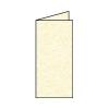 Rössler Papier GmbH and Co. KG Rössler LA/4 karton  2 részes 100/200x210 mm 220gr. metál gyertyafény