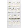 Rössler Papier GmbH and Co. KG Rössler  Matrica  kézzelkészített  fehér rózsa(12) gyöngyház szív(12) gyöngy(12)