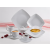 ROTBERG Salátás tálka, porcelán, négyszögletes, 13 cm ,