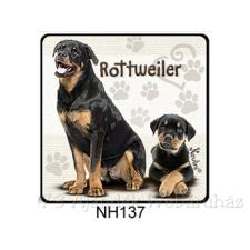 Rottweiler kutyás hűtőmágnes hűtőmágnes