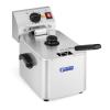 ROYAL CATERING Elektromos olajsütő - 8 liter - EGO termosztát