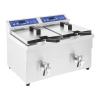 ROYAL CATERING Indukciós fritőz - 2 x 10 liter - 60 - 190 ° C