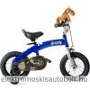 RoyalBaby Pony 6 in 1 futóbicikli és kerékpár-pótkerékkel-Állítható Ülés és Kormány-Kék
