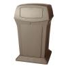 RUBBERMAID Aston műanyag kültéri szemetes kosár, 170 l