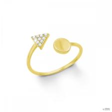 S.Oliver ékszer Női gyűrű ezüst arany színű cirkónia 201266 50 (15.9 mm Ă?) gyűrű