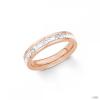 S.Oliver ékszer Női gyűrű nemesacél IP RosĂŠ 201855 56 (17.8 mm Ă?)