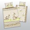 Safari gyermek pamut ágynemű kiságyba, 100 x 135 cm, 40 x 60 cm