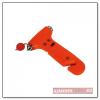 Safety vészkalapács, narancs