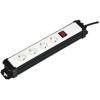 SAL 4es elosztó kapcsolóval, 2m fehér PNV 04K/WH