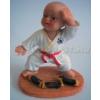 Saman Szobor, Karate baba 5