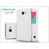 Samsung A710F Galaxy A7 (2016) oldalra nyíló flipes tok - Nillkin Qin - fehér