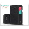 Samsung A710F Galaxy A7 (2016) oldalra nyíló flipes tok - Nillkin Qin - fekete
