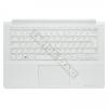 Samsung BA75-04676Q gyári új, magyar fehér laptop billentyűzet + fehér felső fedél