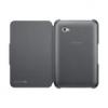 Samsung EFC-1E2NBECSTD oldalra nyíló szövetbevonatos támasztós gyári tok fekete (P6200 Galaxy Tab 7.0 Plus)**