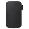 Samsung EFC-1E9L álló szövetbevonatos gyári tok fekete (S8600 Wave 3, i9070 Galaxy S Advance)*