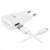 Samsung EP-TA20EWECGWW Travel Adapter (AFC ) Fast charge Wall charger (15W, USB Type-C)- White