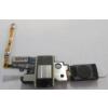 Samsung G850 Galaxy Alpha headsetcsatlakozós átvezető fólia hangszóróval és mikrofonnal ezüst*