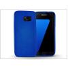 Samsung G930F Galaxy S7 szilikon hátlap - Jelly Flash - kék