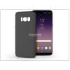 Samsung G955F Galaxy S8 Plus szilikon hátlap - Soft - fekete