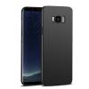 Samsung G965 Galaxy S9 Plus fekete MATT vékony szilikon tok