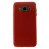 Samsung Galaxy A3 SM-A300F, TPU szilikon tok, lyukacsos, piros