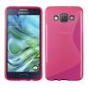Samsung Galaxy A3 SM-A300F, TPU szilikon tok, S-Line, rózsaszín