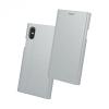 Samsung Galaxy A5 (2017) SM-A520F, Oldalra nyíló tok, stand, Beeyo Grande, ezüst