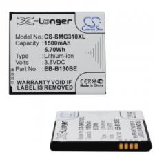 Samsung Galaxy Ace NXT SM-G313H / Style SM-G310, Akkumulátor, EB-B130BE kompatibilis, 1500 mAh, Li-Ion mobiltelefon akkumulátor