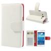 Samsung Galaxy Express 2 G3815, oldalra nyíló tok, stand, fehér